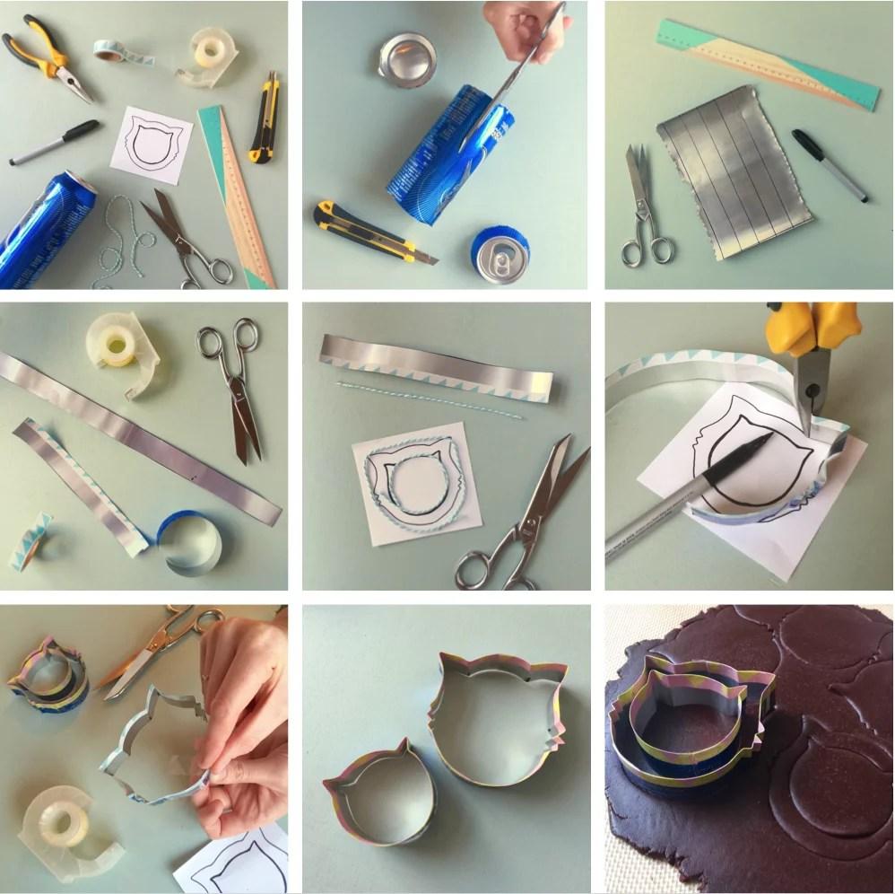 Fabriquer un emporte-pièce avec canette