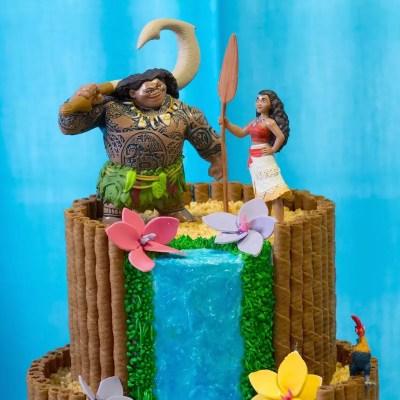 Gâteau Vaiana / Moana