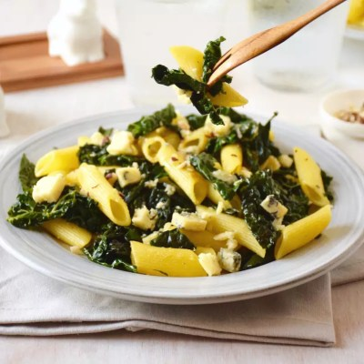 Penne au chou cavalo nero