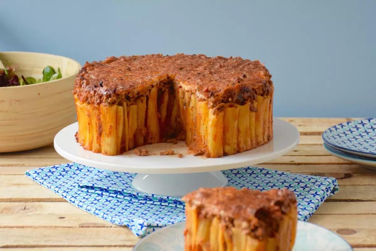 Gâteau de pâtes