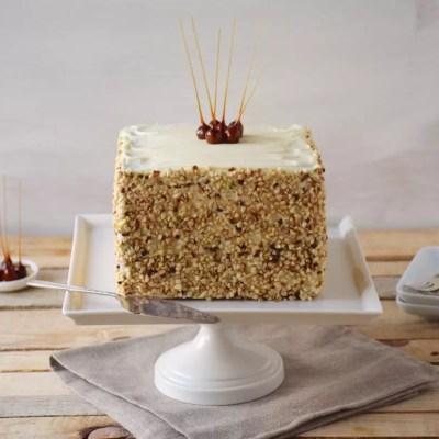 Cubique – Mon Carrot Cake ultime et ses noisettes caramelisées