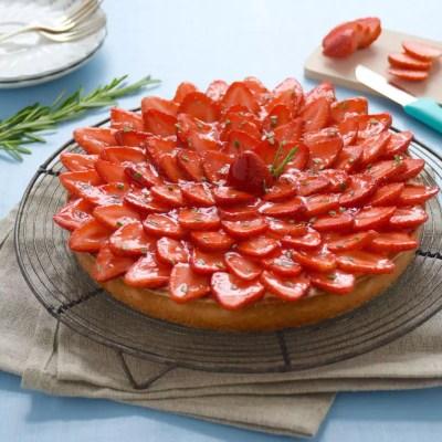 La plus chouette des mamans – Parfaite tarte aux fraises