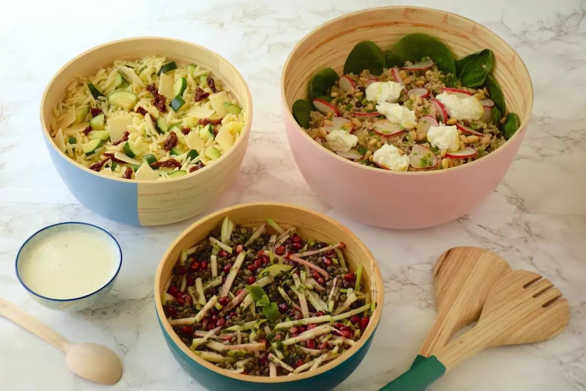 Buffet de salades Cojean