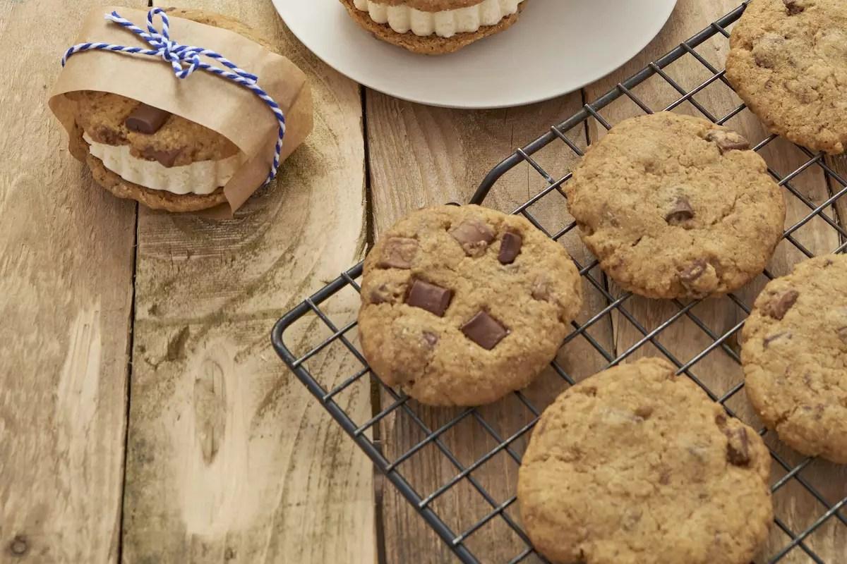 Cookies pour réaliser de sandwiches glacés
