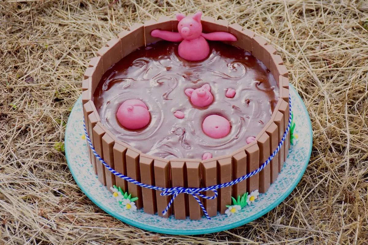 Recette gateau bain de boue cochon
