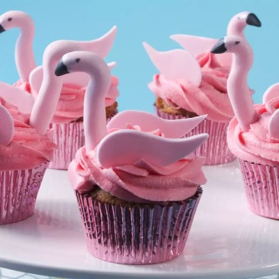 Une touche de rose – Cupcakes flamants roses