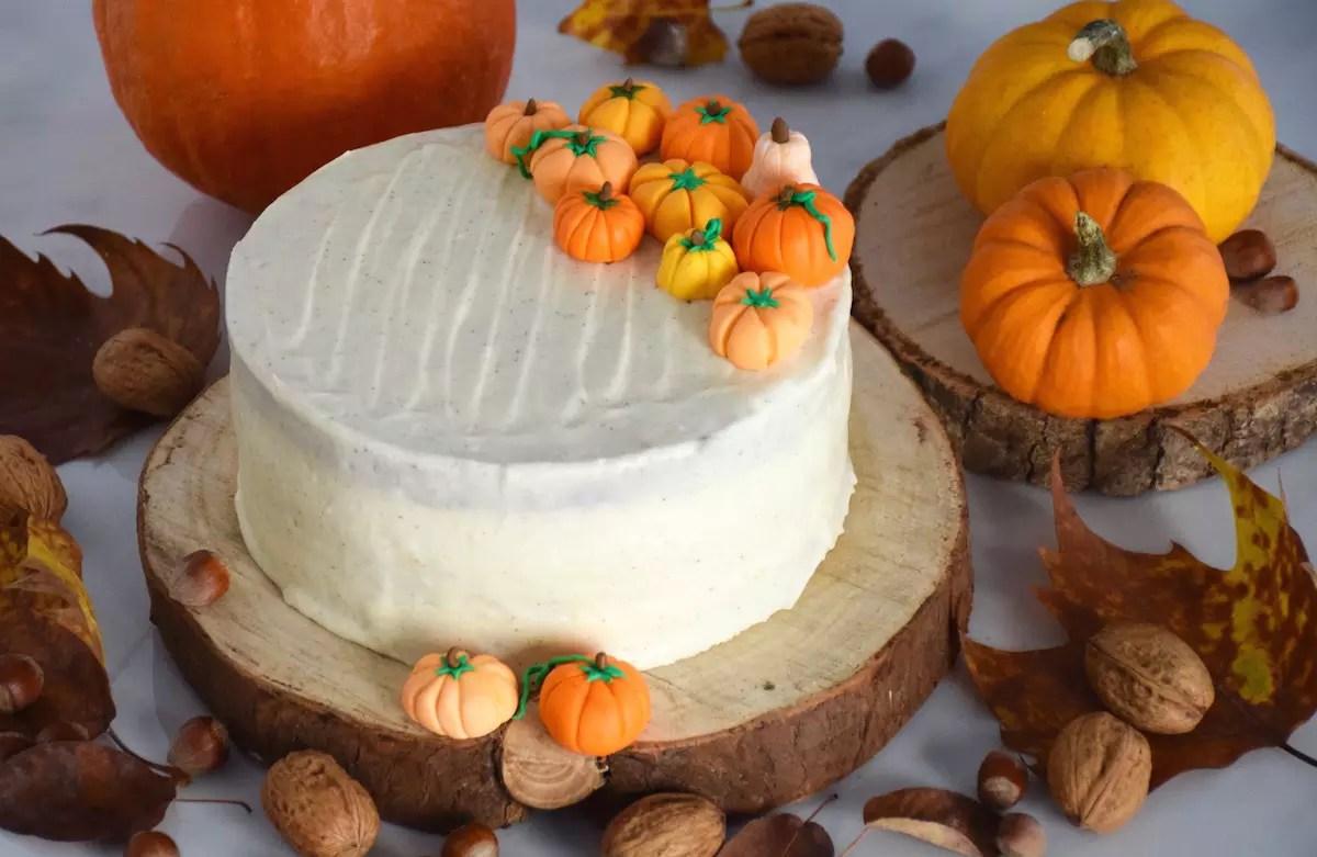 Deco D Automne Facile gâteau au potimarron et sa déco citrouilles