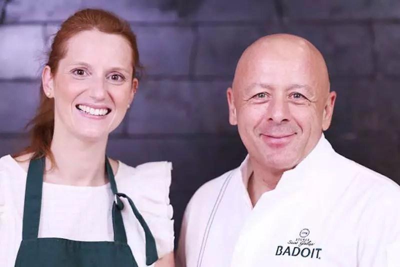 Thierry Marx et Anne-Sophie Le Meilleur Pâtissier