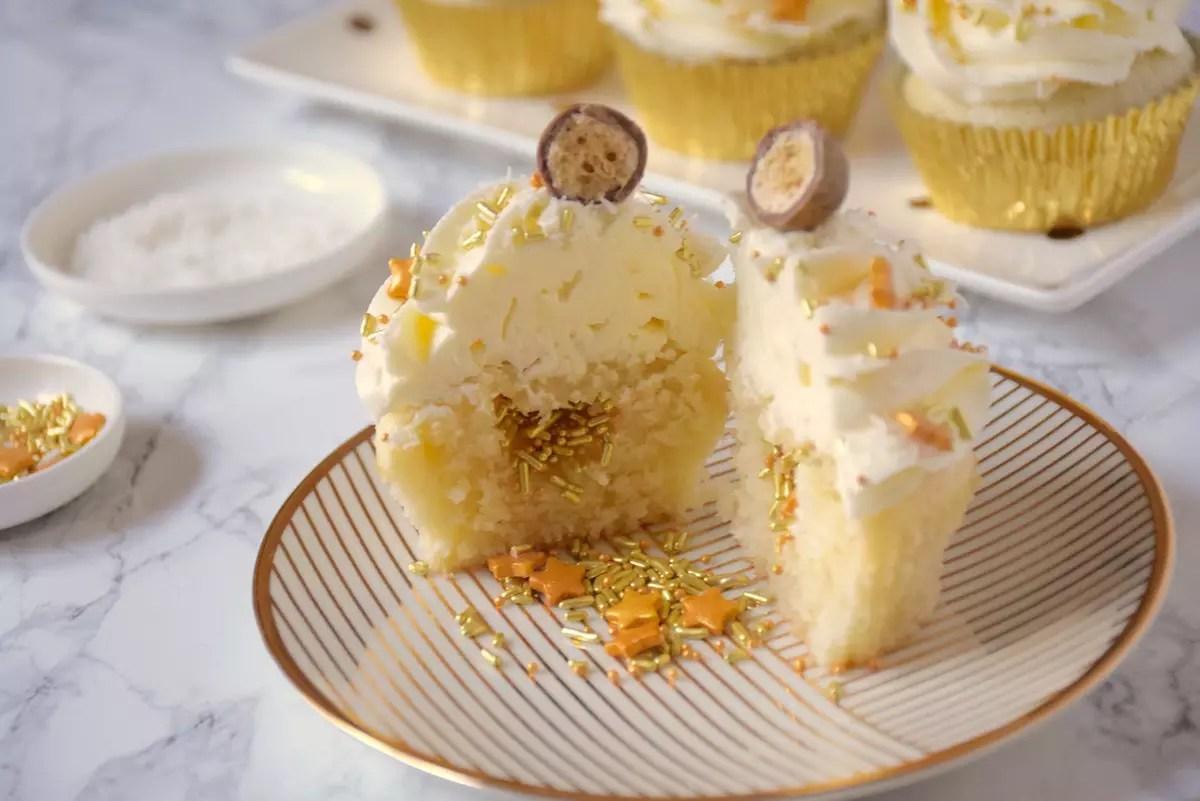 cupcakes coco paillettes