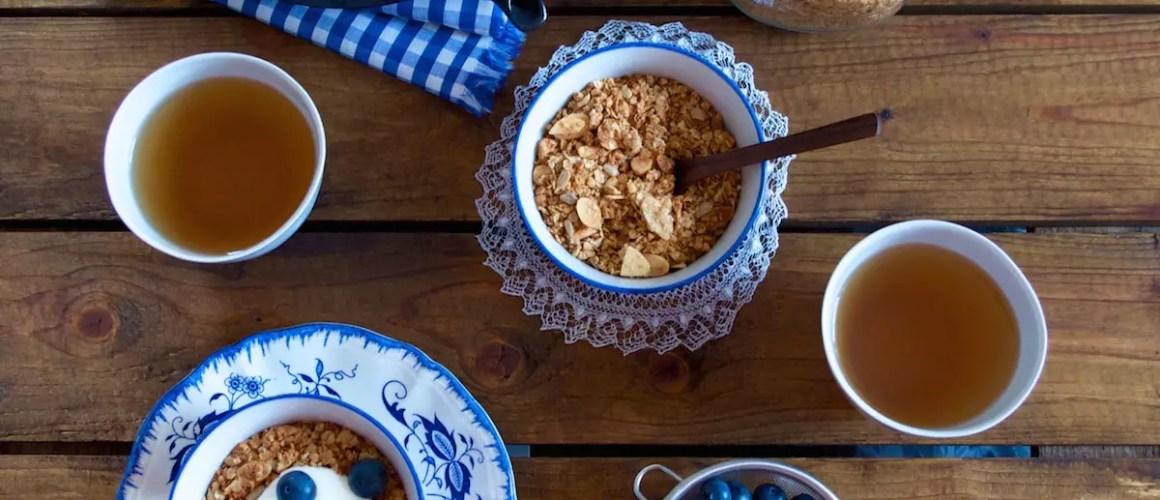 Granola maison aux noix