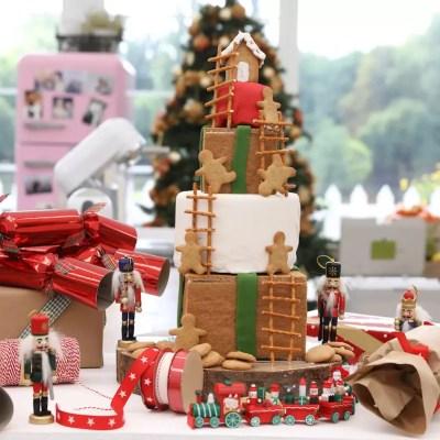 Le Meilleur Pâtissier spécial Fêtes – Pyramide de cadeaux en pain d'épices
