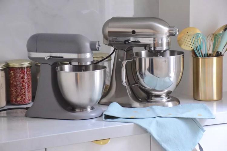 Mini ou Artisan, quel robot pâtissier KitchenAid choisir?