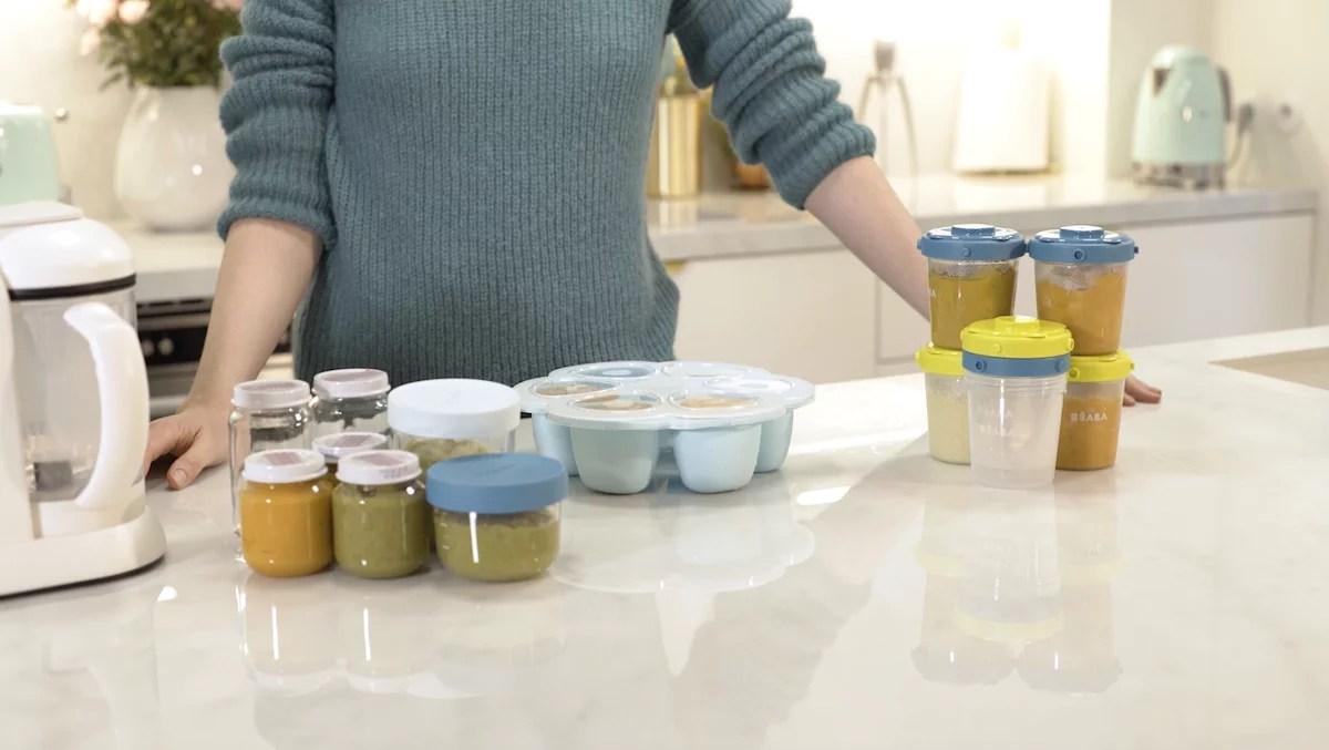 Conditionner et conserve ses petits pots maison