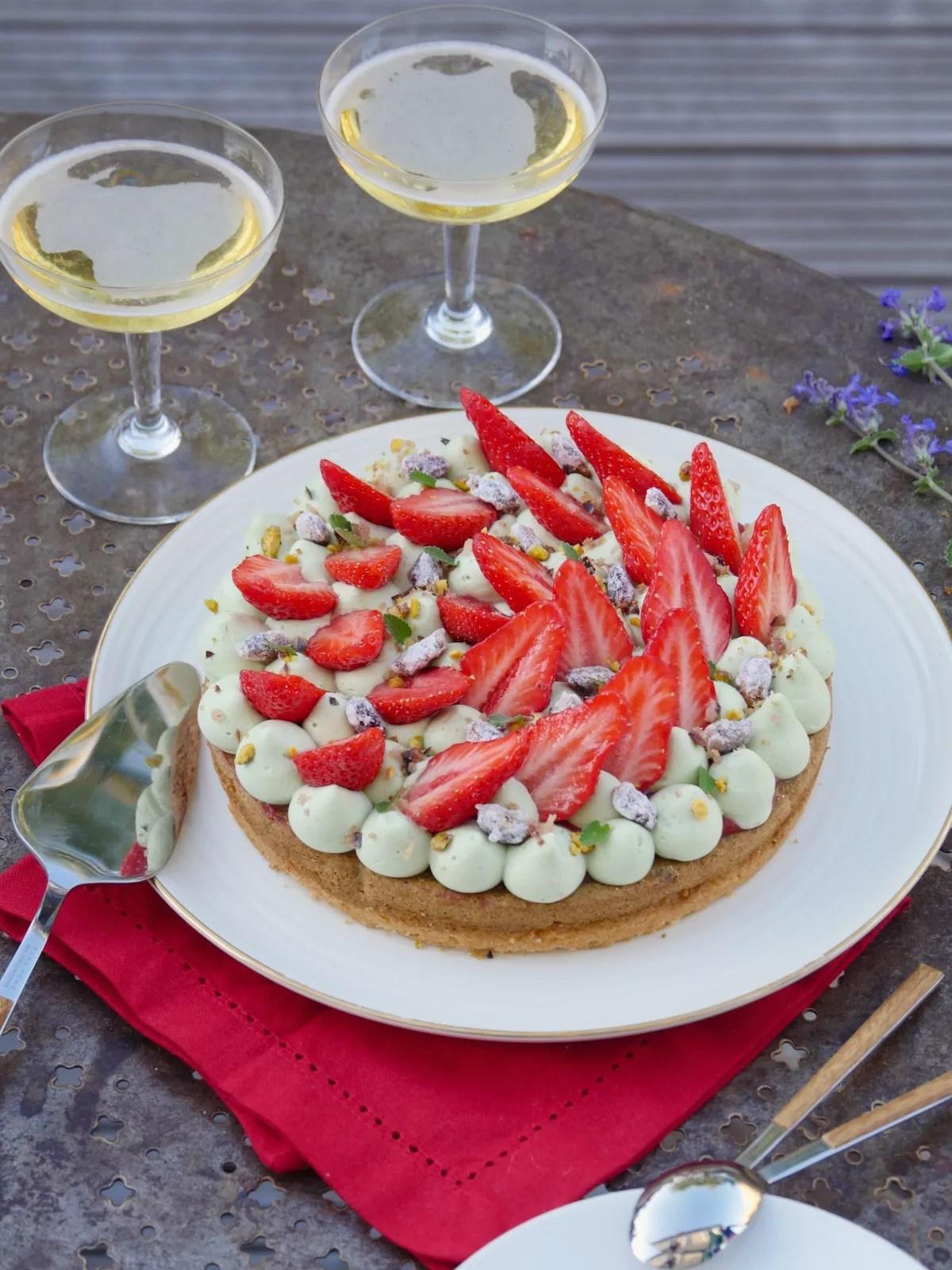Fantastik fraise pistache de Michalak