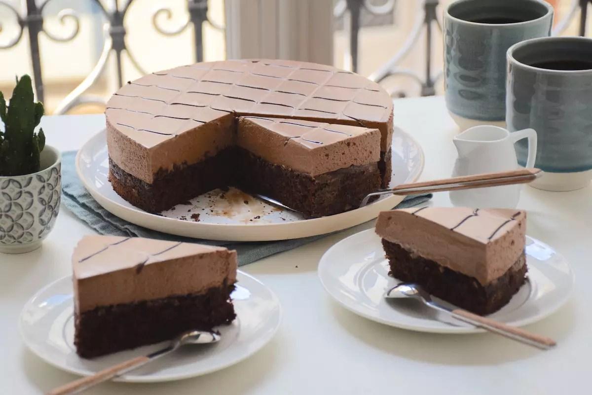 Despacito gâteau café chocolat