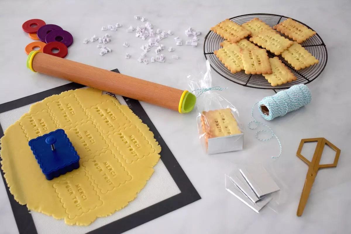 Parfaits biscuits personnalisés