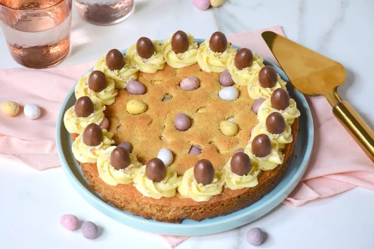 Gâteau cookies de Pâques
