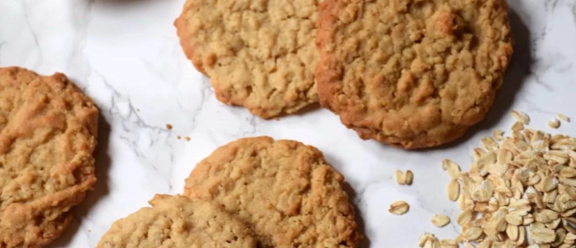 Cookies beurre de cacahuète / avoine