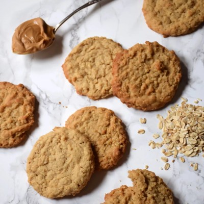 Cookies peanut bitter avoine