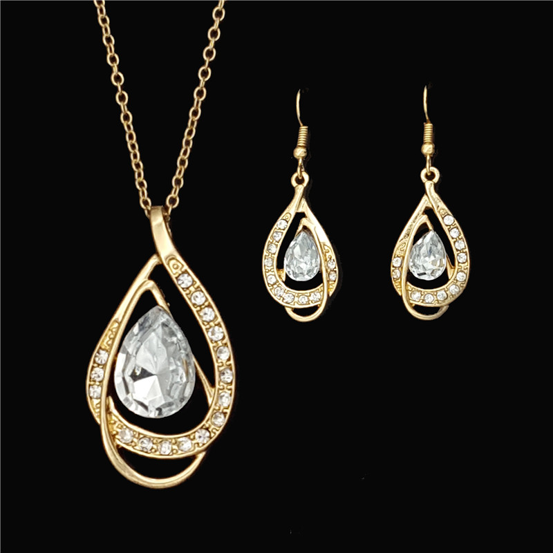 African Costume 18K Gold Plated Jewelry Sets Fashion Design Store