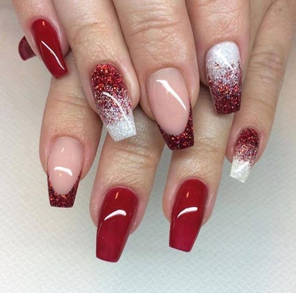 40 Cute Valentines Day Nails Designs Fashiondioxide