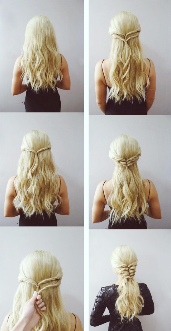 45 Easy Peasy Hairstyle Tutorials For Working MOMs
