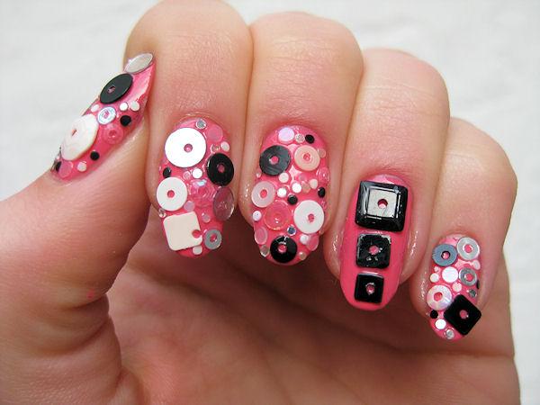 Sequin Nails