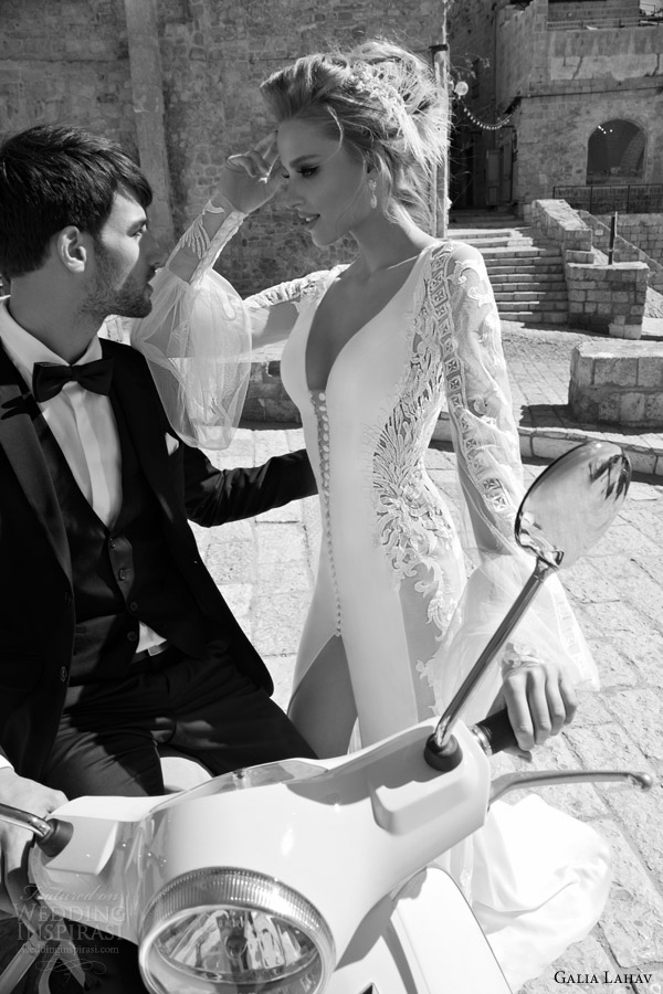 OUTSTANDING BRIDAL COLLECTION: DOLCE VITA BY GALIA LAHAV 2015