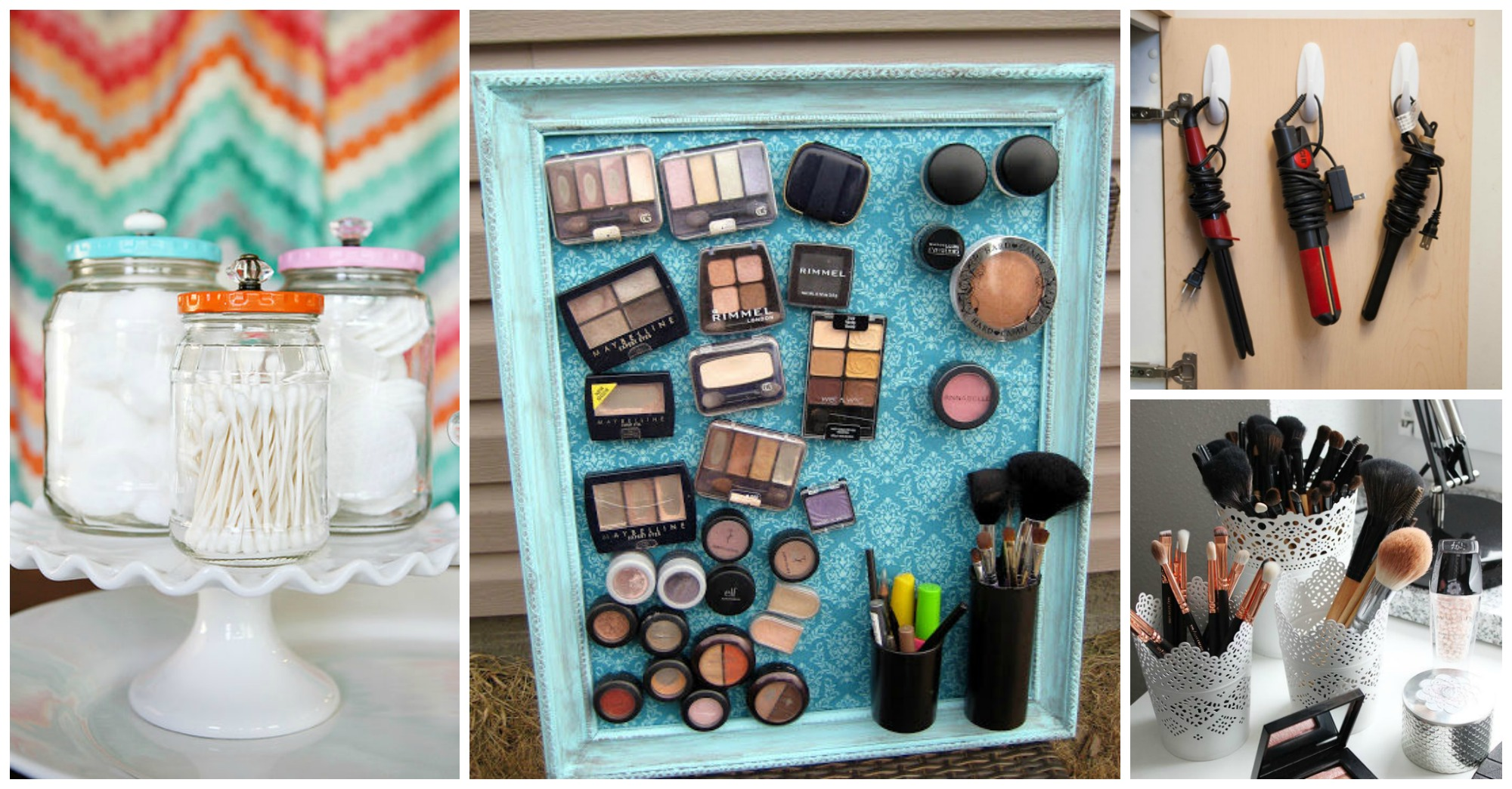 10 Functional DIY Storage Ideas For Your Beauty Products