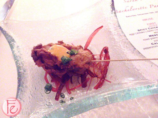Lobster Skewer @ OYA Restaurant