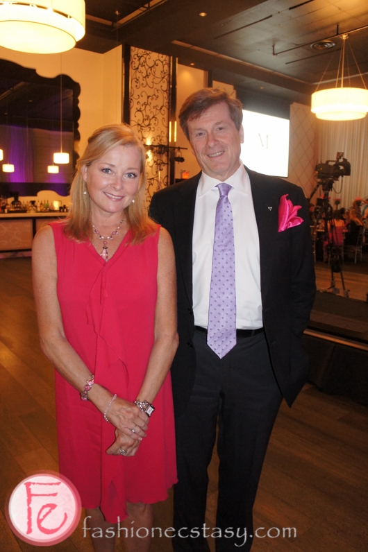 Beverly Thomson and John Tory