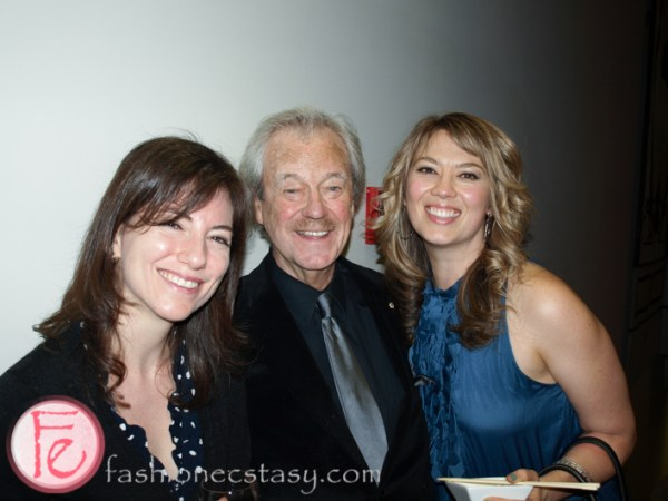 Gordon Pinsent and Naomi Snieckus