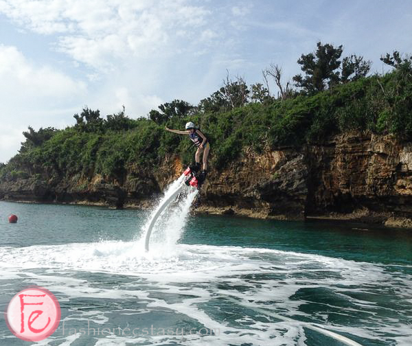 flyboarding - Ikei Beach