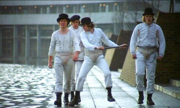 The droogs from A Clockwork Orange