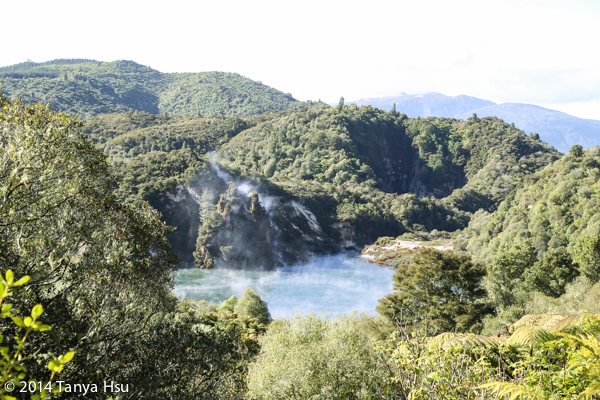 Travel New Zealand Rotorua Waimangu Volcanic Valley