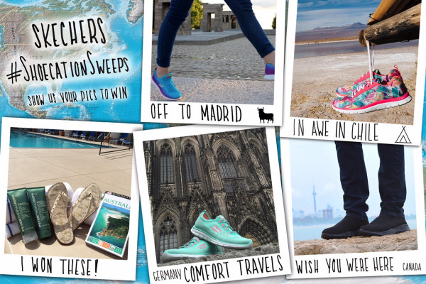 Skechers Shoecation Instagram contest