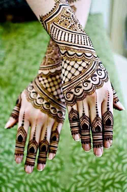 Best Pakistani Mehndi Designs For Eid 22 FashionEven