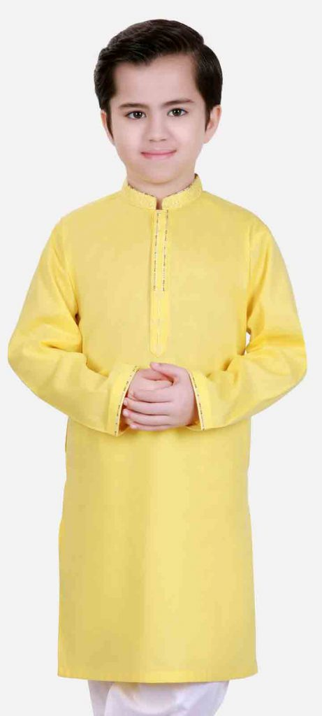 Edenrobe Kids Eid Shalwar Kameez For Little Boys 11