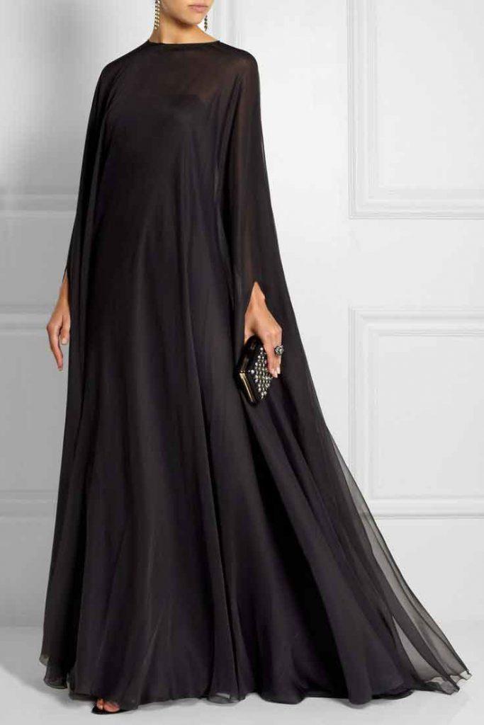 Simple Black Abaya Designs For Girls 10 FashionEven