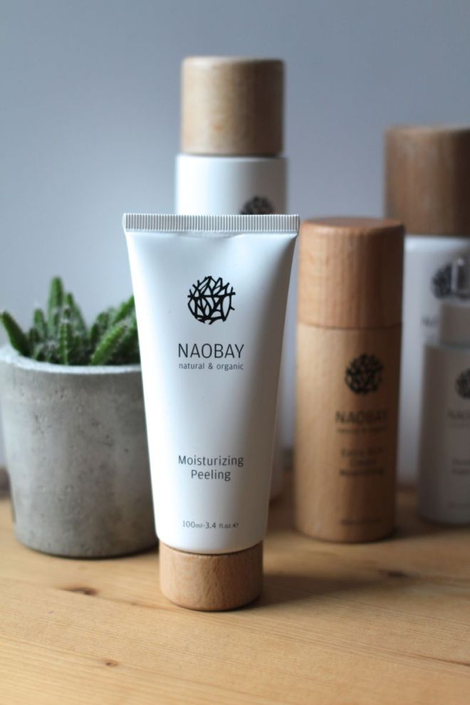 Naobay Moisturizing Peeling - natural and organic