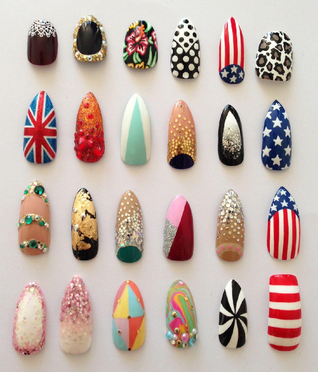 Nail Art Ideas » Klutz Nail Art - Pictures of Nail Art Design Ideas