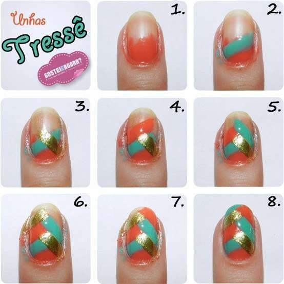 Enjoy Painting Your Nails Charming Nail Art Designs Latest