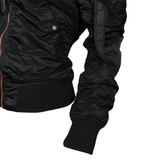 ALPHA Industries MA-1 VF LW Damen Jacke black/copper online bestellen bei Mode Freund Top Fahion Marken ab 50€ Vers.k.frei