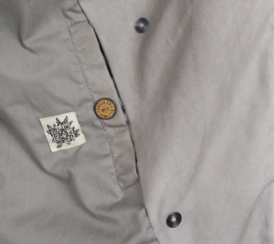 Khujo Trig Damen Mantel di-pebb bei Mode Freund Fahion Shop ab 50€ Versandkostenfrei auch auf Rechnung