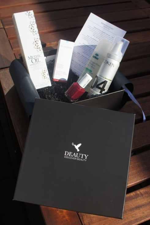 Déballage de première beauty box belge, édition septembre 2012