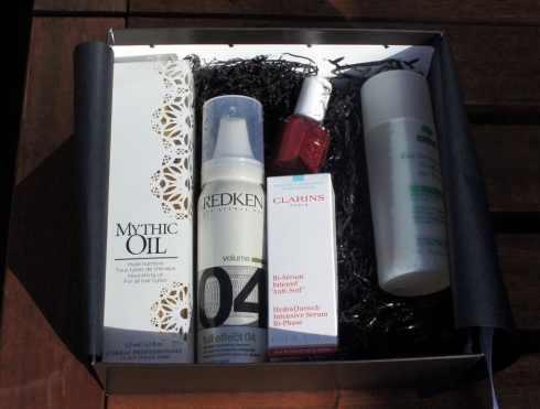 première Beauty Box belge contenu