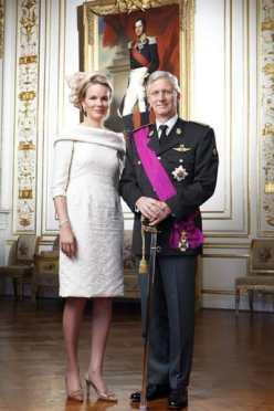 La Robe de la Princesse/Reine Mathilde signée Edouard Vermeulen