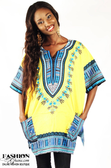Dashiki / Angelina Print Top