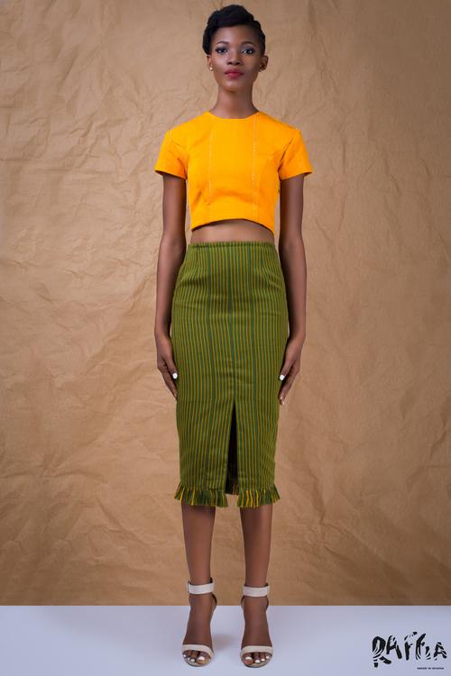 raffia fashionghana african fashion look book (5)
