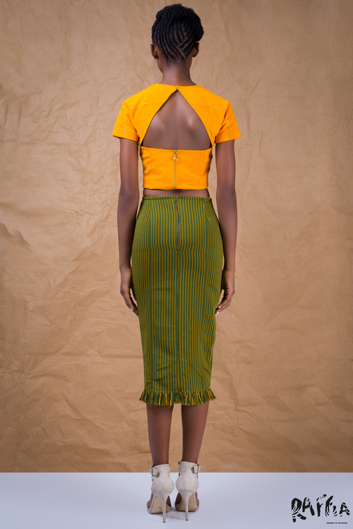 raffia fashionghana african fashion look book (6)